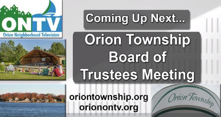 Orion Township Board of Trustees meeting of     12-7-2020