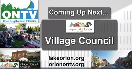The Lake Orion Village Council Meeting of 12-14-2020