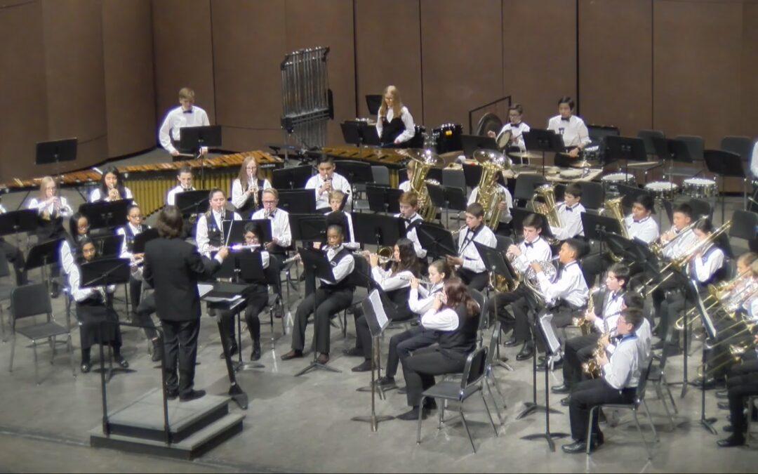Scripps Middle School Fall Concert