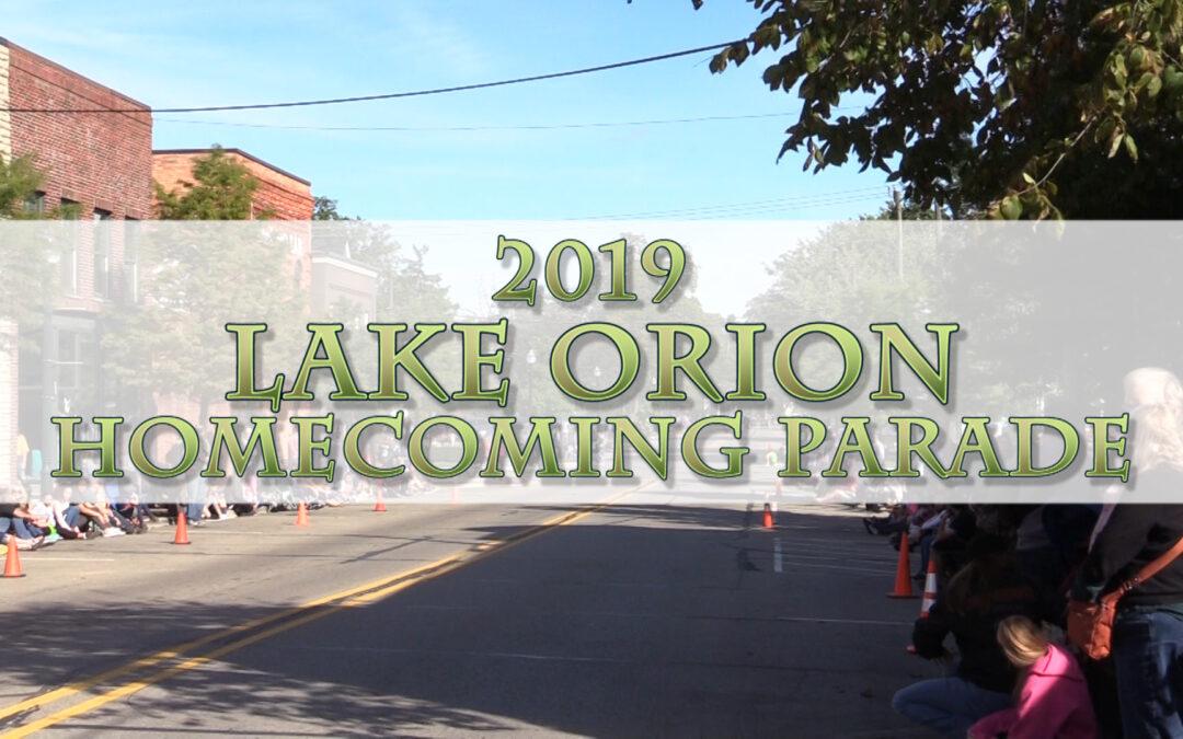 2019 Lake Orion Homecoming Parade