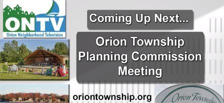 Orion Township Planning Commission Meeting of Jan. 6, 2021