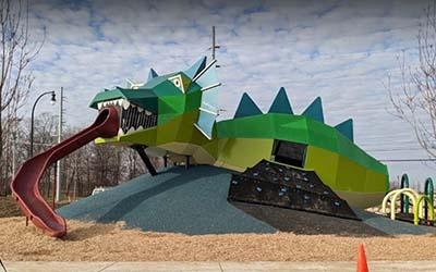RIBBON CUTTING FOR THEPLAYFUL DRAGONPocket Park