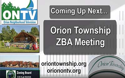 Orion Township ZBA Meeting of June 14, 2021