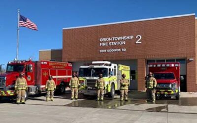Orion Township Fire Department Begins Advanced Life Support Service