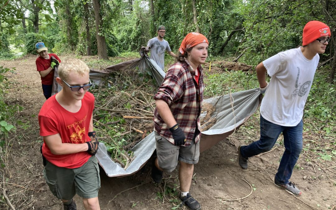 Oakland County Scouts give back through Summer of Service