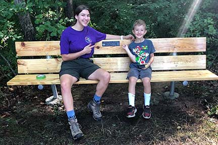 Eagle Scouts complete service projects at Agawam